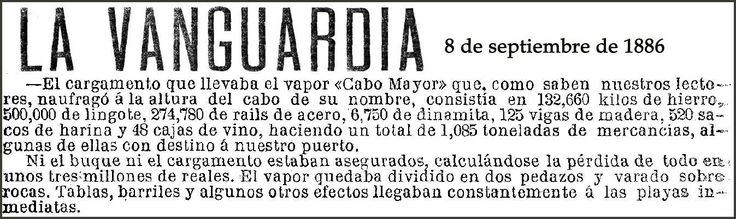 Cabo Mayor SS (I) (+1886) documento