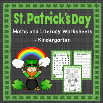 This pack contains 9 different activities (in both black & white and colour) for St. Patrick's Day. These activities are aimed at Kindergarten level (year 0-1).** This pack can be purchased as a bundle at a discounted price here**To see my St. Patrick's Day Grade 1 Activities click the link below.St.
