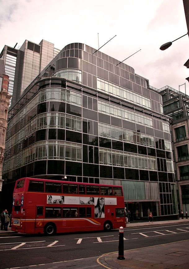 The former Daily Express building at Fleet street, London (Architecture Example of Art Deco)