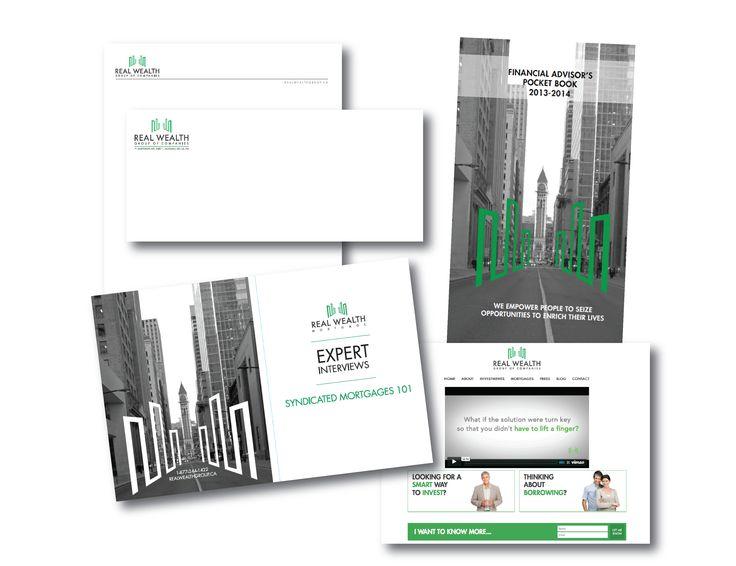 Real Wealth Branding Design + Corporate Communications