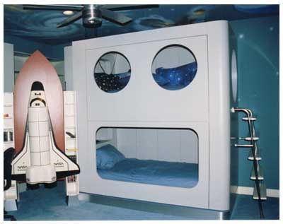 Space Shuttle Bedroom - Pics about space