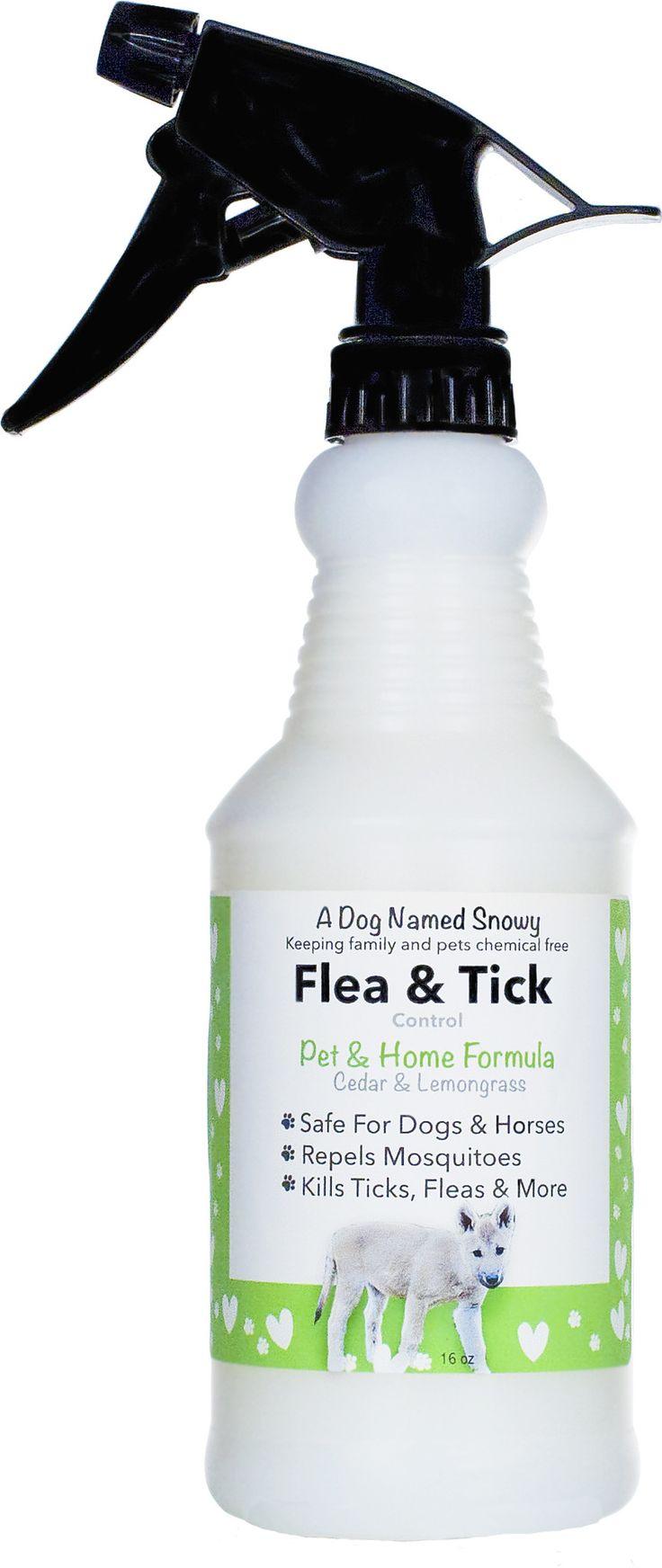 All Natural Flea & Tick Spray