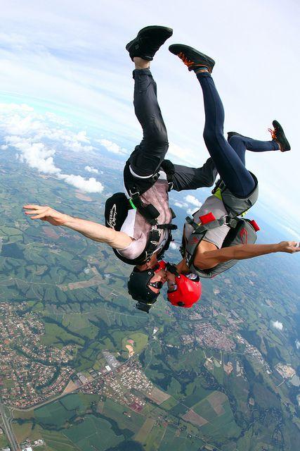 skydiving! Definitely on my bucket list