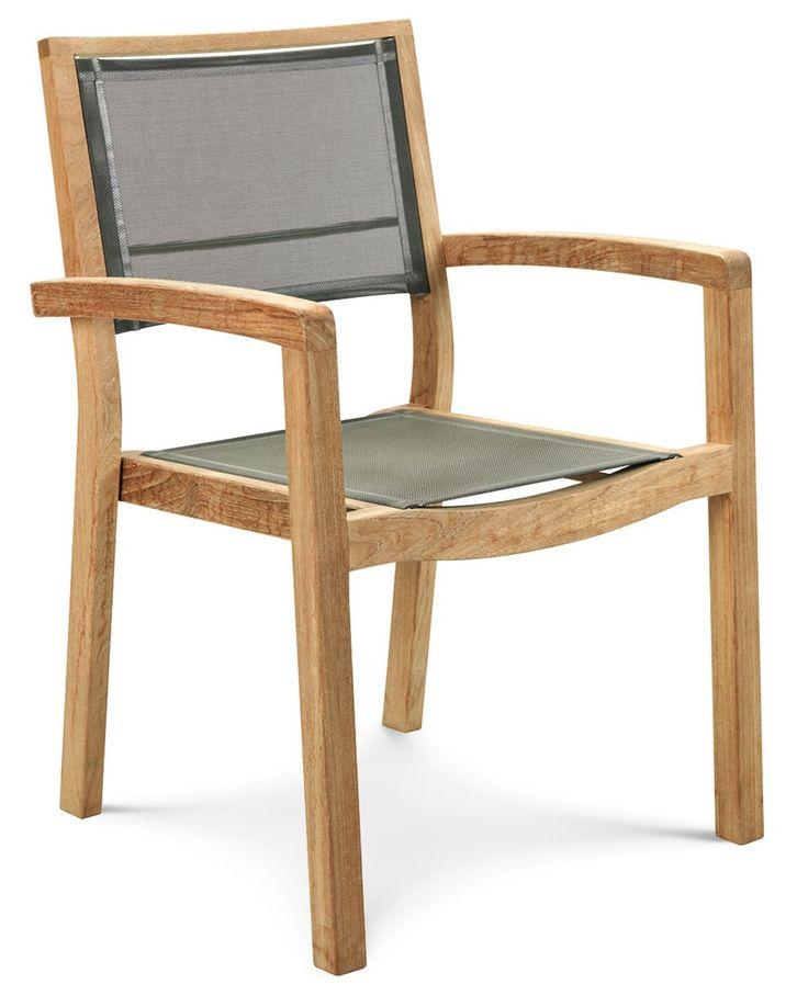 Mya stol med armstöd från Ethimo hos ConfidentLiving.se