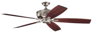 "Kichler Lighting 300106AP Monarch 70"" DC Motor Transitional Ceiling Fan transitional-ceiling-fans"