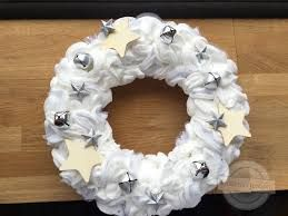 """Résultat de recherche d'images pour """"noel couronne coton"""""""