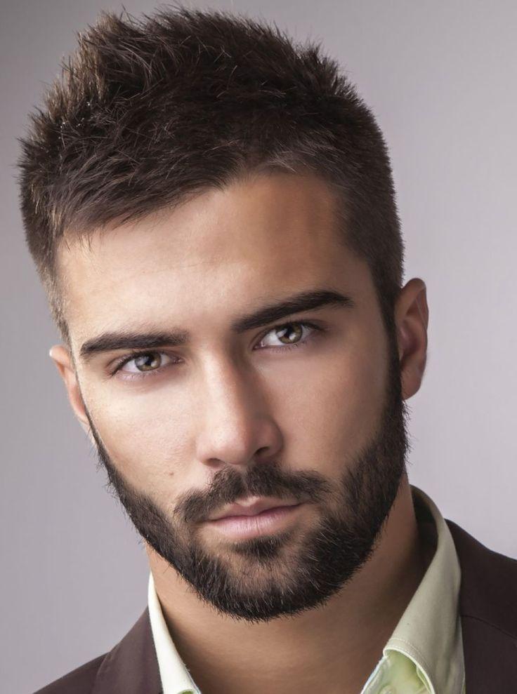 nice beard styles & hairstyle