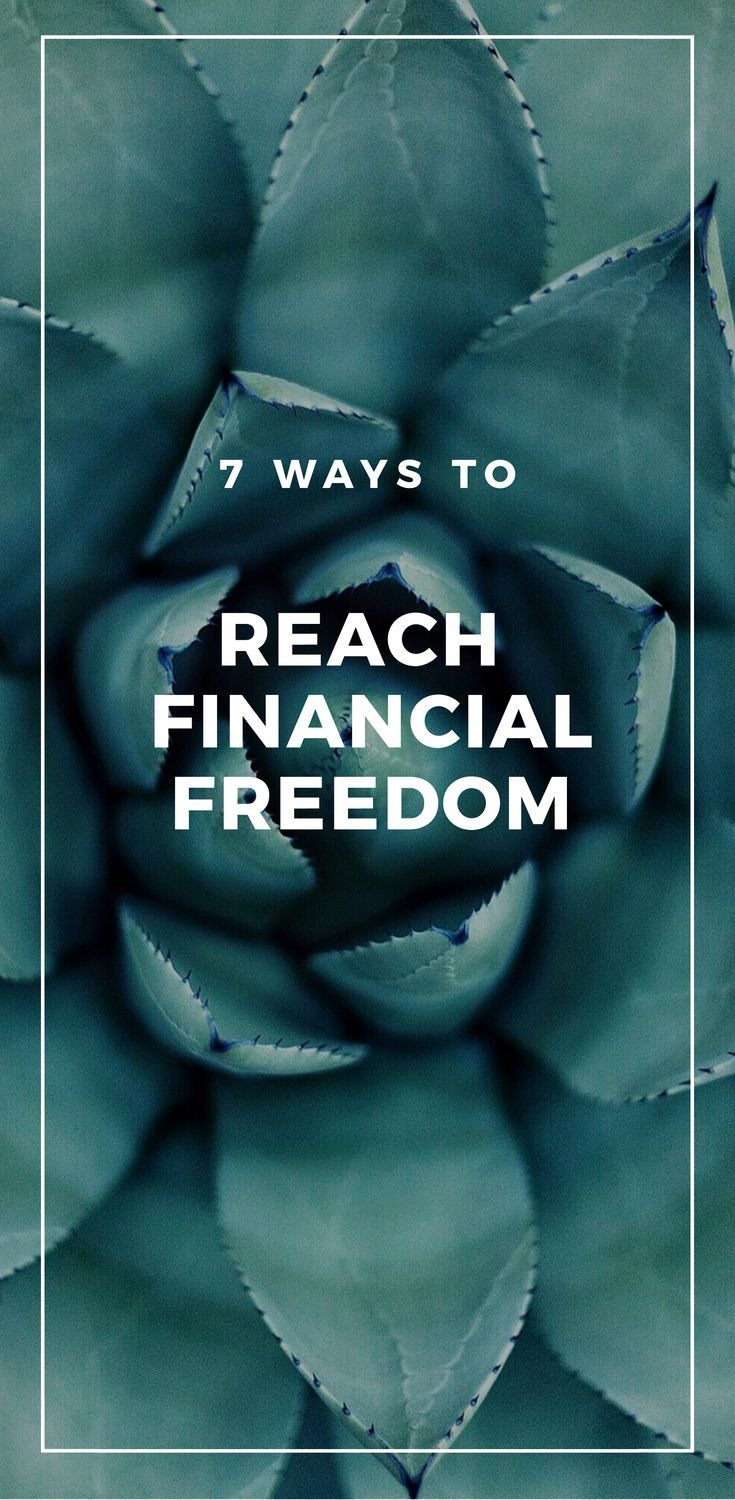 7 Ways to Reach Financial Independence - From Barista FIRE