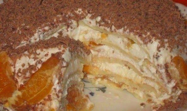 Домашние Рецепты как у мамы: Торт со вкусом мороженого