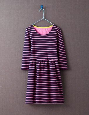 Stripe Skater Dress
