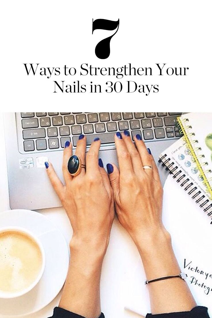 Read up on these trusty tips to make your nails long and strong within a month.