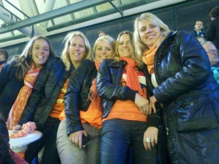 Wedstrijd Nederlands Elftal
