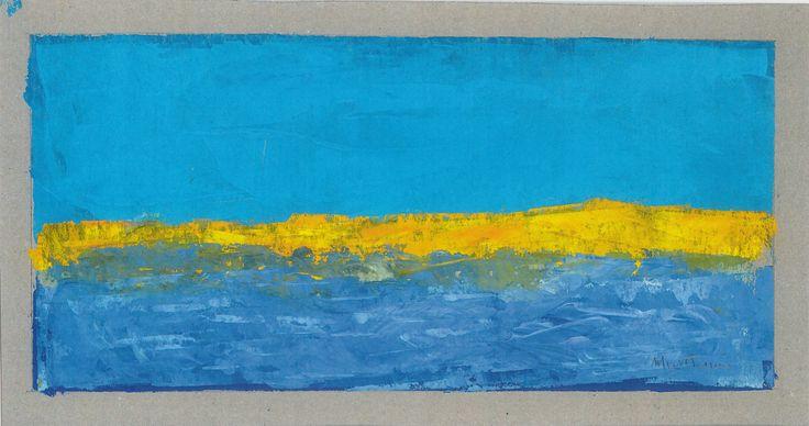 azzurro blu e giallo