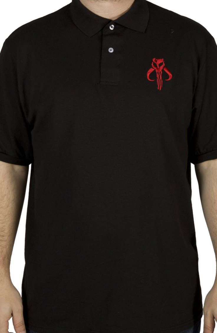 Mandalorian Star Wars Polo