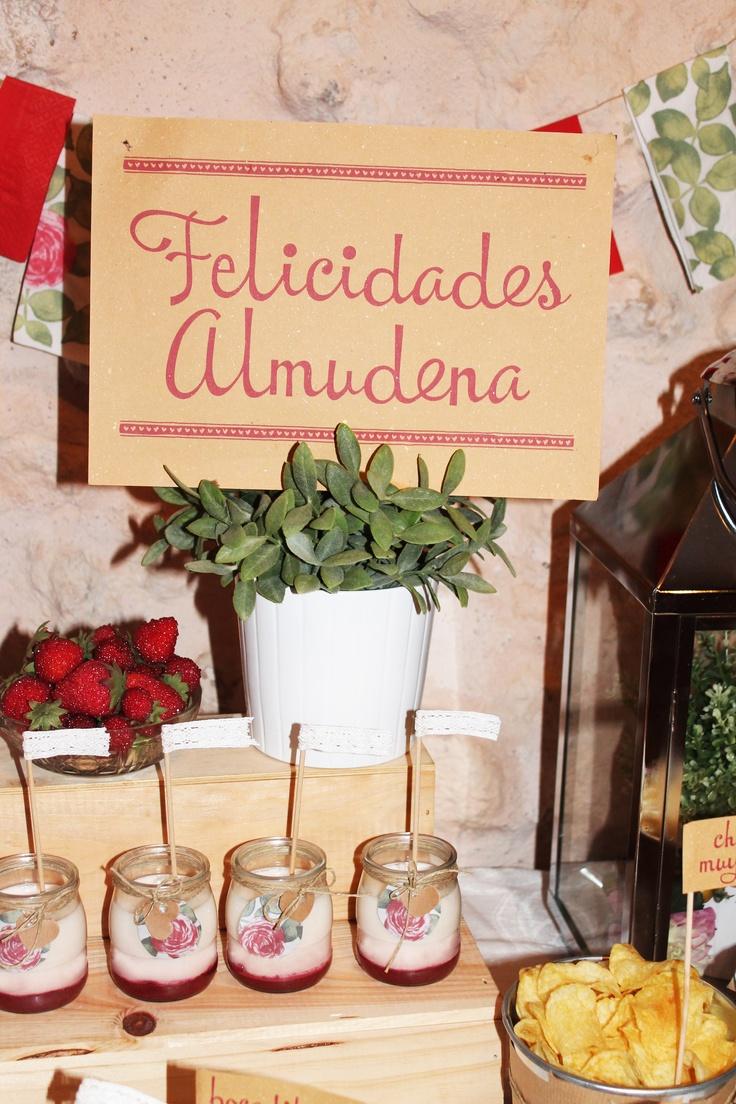Fiesta sorpresa para celebrar el 40 cumplea os de almudena - Fiestas cumpleanos originales adultos ...