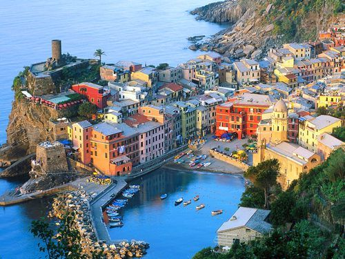 Cinque Terre Italy Hotels The Is Part Of Coast In Liguria