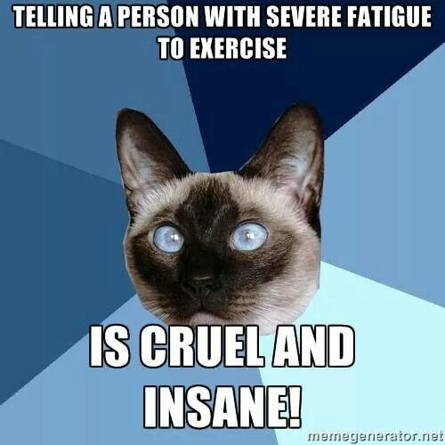 Yes, and dangerous. The psychs who came up with GET (Graded Exercise Therapy) are, therefore, cruel and insane.