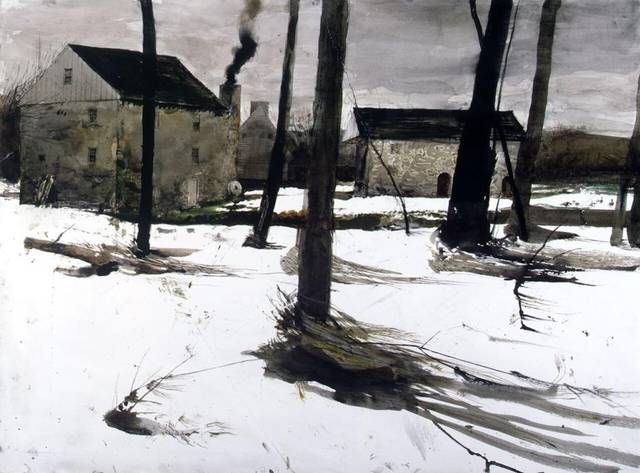 The Forge, Andrew Wyeth