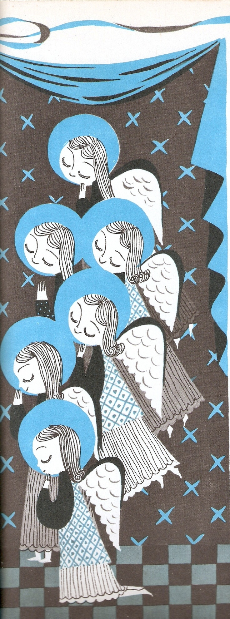 Mary Blair's angels