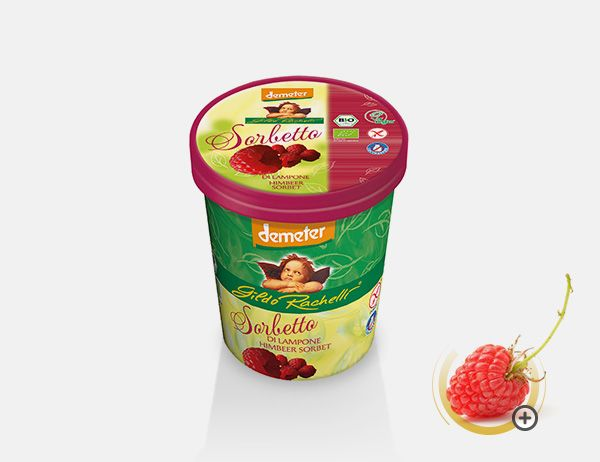 Sorbetto al Lampone 350 g / 500 ml