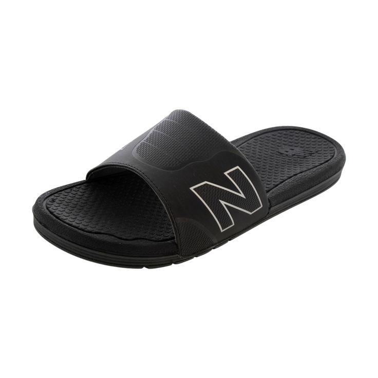 New Balance - Men's Pro Slide Flip Flops - Black