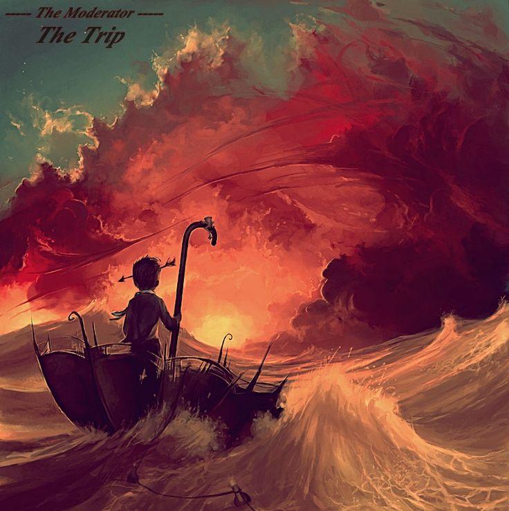 Cyril Rolando 2013 Moderator - The Trip [Moderator] #albumcover