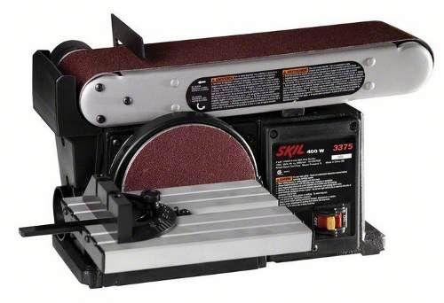 Lixadeira Combinada 400w 3375 Skil 220v. Garantia Bosch - R$ 798,90 - FRETE GRÁTIS