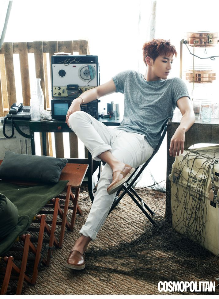 Jun K. - Cosmopolitan Magazine May Issue '15