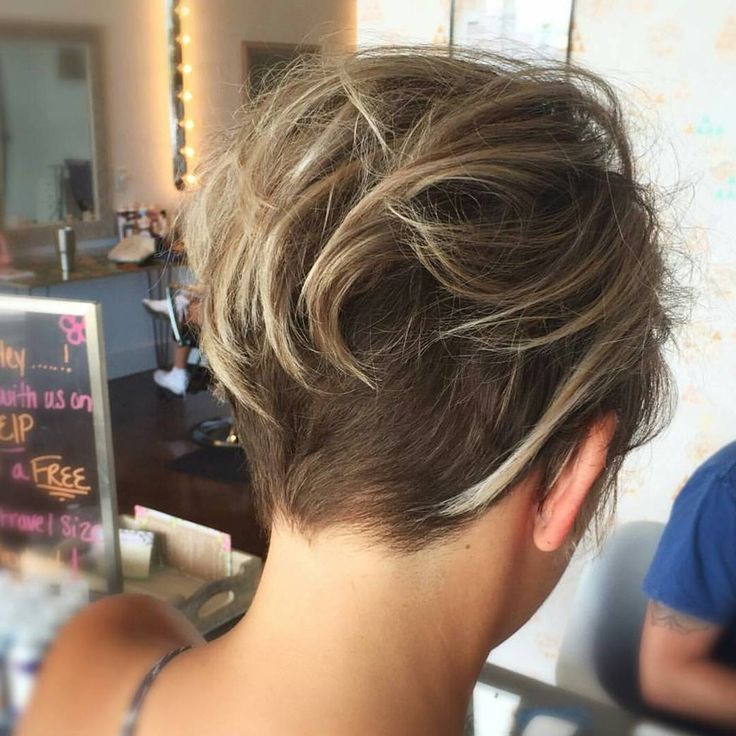 hair styles front and back best 25 undercut pixie haircut ideas on 3512