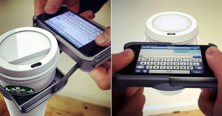 Capas de iPhone ''substituem'' objetos como soco inglês, carteira e até abridor de latas - BOL Fotos
