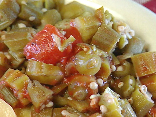 Stewed Okra and Tomatoes | Recipe