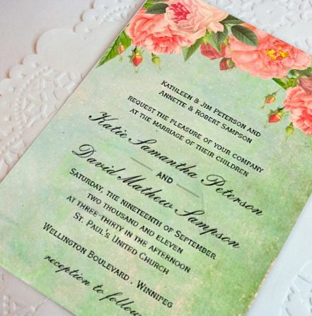 32 best Wedding Invitations by Colourful Designs Inc images on