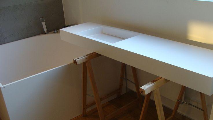 Zdjęcie nr 9 w galerii Nowoczesne łazienki na wymiar - umywalki, wanny, brodziki, blaty – Deccoria.pl