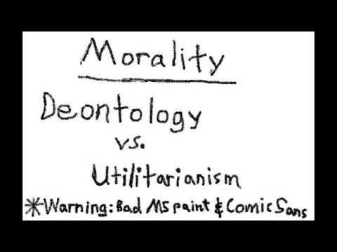 Deontology vs. Utilitarianism