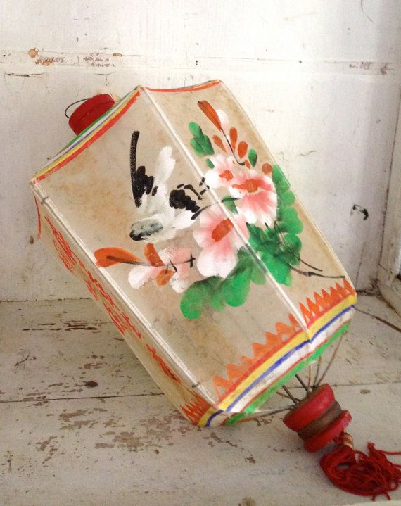 antique Chinese lantern by histoireancienne on Etsy
