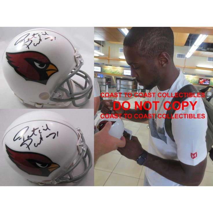 Patrick Peterson, Arizona Cardinals, Signed, Autographed, Mini Helmet, a Coa with the Proof Photo of Patrick Signing Will Be Included