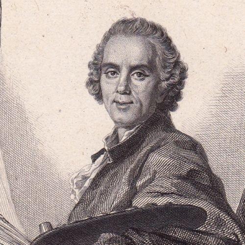 Portrait-XIXe-Claude-Joseph-Vernet-Avignon-Peintre-Peinture-1846