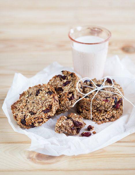 Ovesné sušenky poslouží jako sytá snídaně i zdravá svačina; Mona Martinů