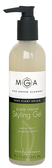 Max Green Alchelmy  | Scalp Rescue Styling Gel - perfect for a softer hold and glad I discovered this flake-free gel