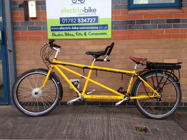 Thorn Raven Split Tandem Electric Bike Conversion Electric Bike Kits Electric Bike Bike Kit