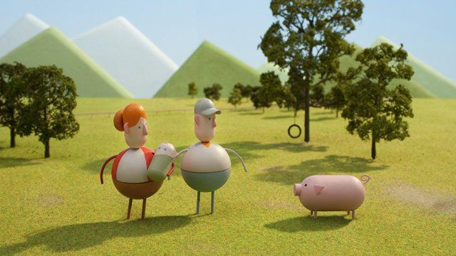 A stop-motion animated film about farming commissioned by Chipotle Mexican Grill.  It shows the life of a farmer as he slowly turns his family farm into an industrial animal factory, before seeing the errors of his ways and opting for a more sustainable future.   Willie Nelson was commissioned to record a cover version of Coldplay's song, 'The Scientist', for the film's soundtrack. The song is released on iTunes, with proceeds going to a non-profit organisation ...