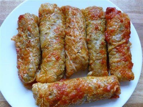 Wirsingkohl gefüllt mit Hackfleisch und Reis-Kiymali lahana sarmasi - YouTube