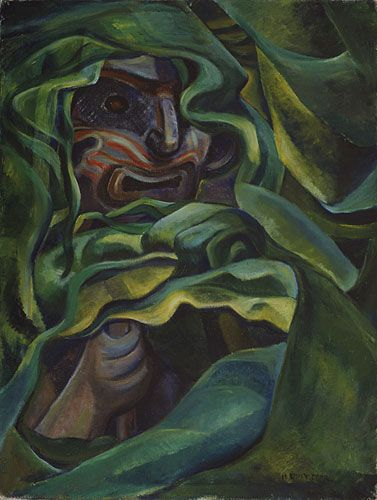 Vancouver Art Gallery - Emily Carr - Strangled by Growth