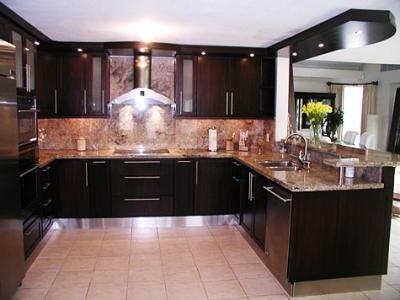 Gabinetes y cocinas en pvc o madera desde 349 for Cocinas integrales de madera