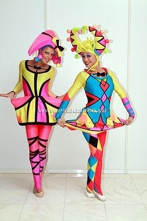 Красивые фотографии цирковые костюмы