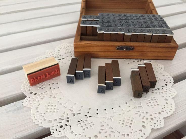 die besten 25 buchstabenstempel ideen auf pinterest vogel stempel adventskalender selber. Black Bedroom Furniture Sets. Home Design Ideas
