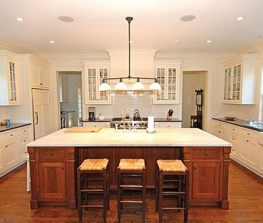 Kitchen Cabinets Island Shelves Cabinetry White Walnut: 35 Best Images About Traditional Kitchen Inspiration On