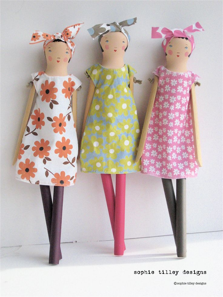A kit to make a charming doll of your very own. #EtsyUK