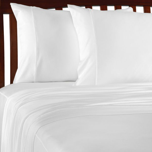 Venus Cal King Size Sheet Set (White) (72H x 84W x 17D)