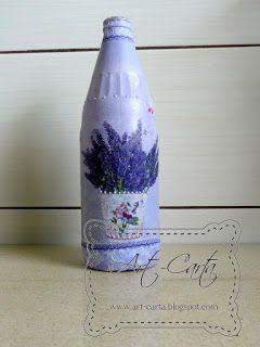Fioletowa butelka